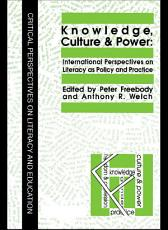 Knowledge  Culture And Power PDF