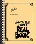 How To Play From A Real Book Book PDF
