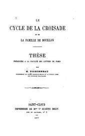 Le cycle de la croisade et la famille de Bouillon ...