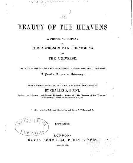 The Beauty of the Heavens PDF