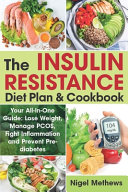 The Insulin Resistance Diet Plan   Cookbook Book