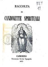 Raccolta di canzonette spirituali