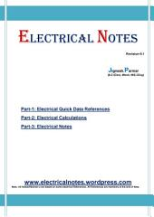 Electrical Notes: Volume 1