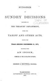 Treasury Decisions Under Customs and Other Laws: Volume 4