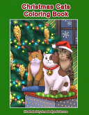 Christmas Cats Coloring Book