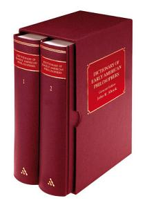 Dictionary of Early American Philosophers PDF
