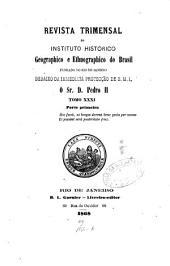 Revista trimensal de historia e geographia ou Jornal do Instituto historico e geographico brasileiro
