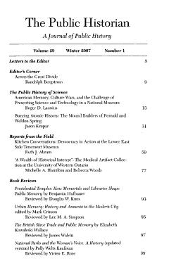The Public Historian PDF