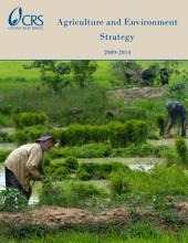 Agriculture and Environment Strategy, 2009-2014