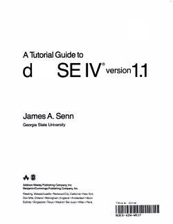 A Tutorial Guide to DBase IV Version 1 1 PDF