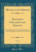 Hansard s Parliamentary Debates  Vol  4 PDF