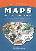 Art of Coloring  Maps of the Disney Parks