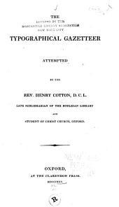 The Typographical Gazetteer