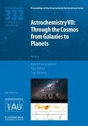 Astrochemistry VII (IAU S332)