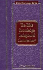 The Bible Knowledge Background Commentary: Acts-Philemon, Volume 2