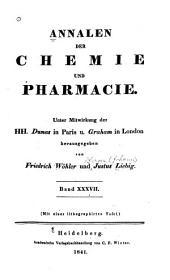 Annalen der Chemie und Pharmacie: Bände 37-38