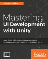 Mastering UI Development with Unity PDF