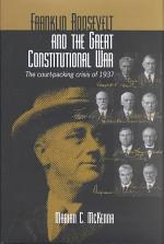Franklin Roosevelt and the Great Constitutional War