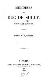Mémoires du duc de Sully: Volume 5