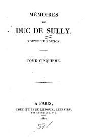 Mémoires du duc de Sully: Volume5