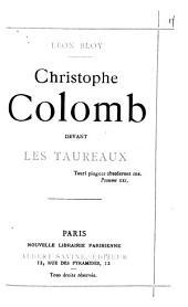 Christophe Colomb devant les taureaux