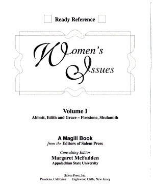 Women s Issues PDF