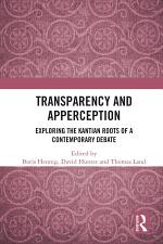 Transparency and Apperception