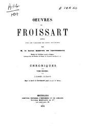 Chroniques de Froissart: 1382-1386