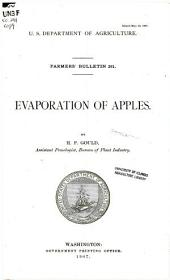 Evaporation of apples: Issues 291-300