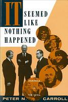 It Seemed Like Nothing Happened PDF