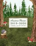 Download Academic Planner 2019 2020 12 Months July 2019   June 2020 Book