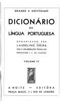 Grande e nov  ssimo dicion  rio da l  ngua portuguesa PDF