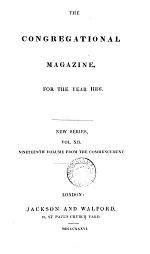 The Congregational magazine [formerly The London Christian instructor].