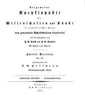 Allgemeine Encyklopädie der Wissenschaften und Künste: In alphabetischer Folge. ¬Section ¬2, H - N ; Theil 28, Jüdische Münzen - Jungermannia