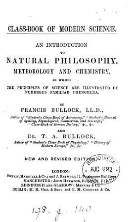 Class book of modern science  by F  and T A  Bullock PDF