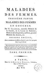 Maladies des enfans, des filles et des femmes: Volumes7à8