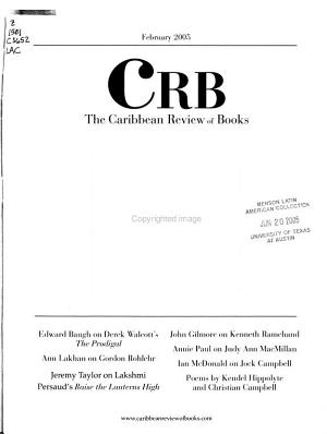 The Caribbean Review of Books PDF