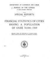 Financial Statistics of Cities Having a Population of Over 30,000