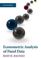 Econometric Analysis of Panel Data PDF