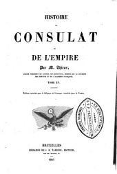 Histoire du consulat et de l'empire: Volume15