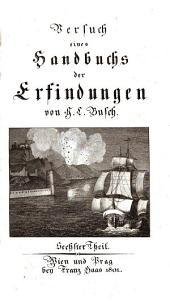 Versuch eines Handbuchs der Erfindungen: S - Sonntagsschulen, Band 6