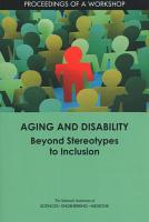 Aging and Disability PDF