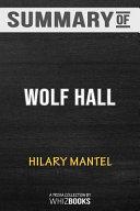 Summary of Wolf Hall PDF