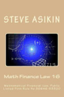 Math Finance Law 16