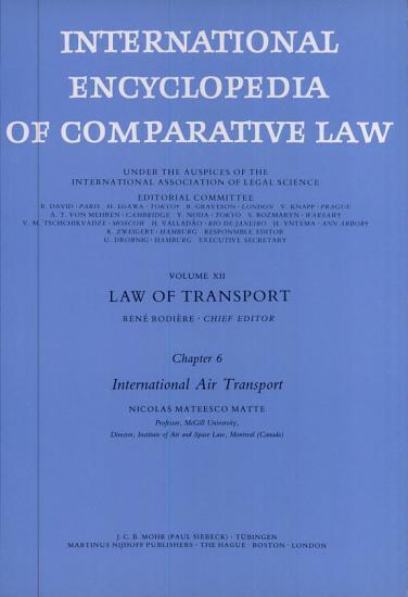 International Encyclopedia of Comparative Law PDF