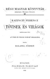 Tövisek és Virágok: Széphalom 1811