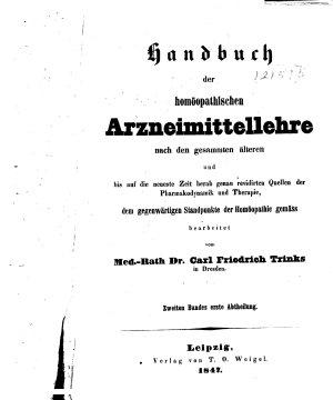 Handbuch der hom  opathischen Arzneimittellehre nach den gesammten   lteren PDF