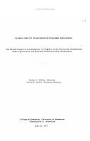 Closed Circuit Television in Teacher Education PDF