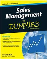 Sales Management For Dummies PDF