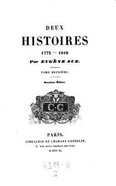Deux histoires. 1772-1810. 2. ed